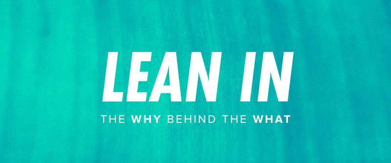 Church of the King Message Series - Lean In